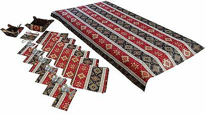 TABLECLOTH SET - NAPKINS COVERS FOR THE KITCHEN APPLIANCES B