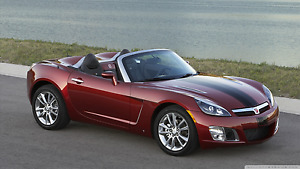 2009 Saturn Sky Redline Edition Spéciale Ruby Red