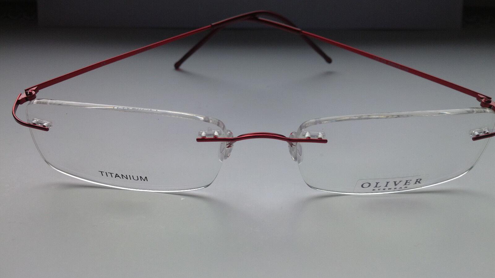 Brillengestell Brillenfassung für Herren/Männer oder Frauen OLIVER 133C5
