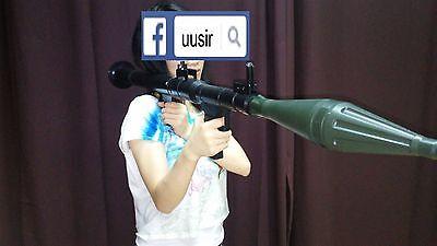 120cm RPG-7 Toy Model rocket launcher reenactment prop anit tank rpg7 halloween