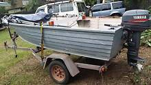 4.1 meter alluminium tinny with 30Hp yamaha 2 stroke Winnellie Darwin City Preview