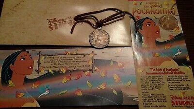 Disney Spirit Of Pocahontas limited edition Medallion 1995