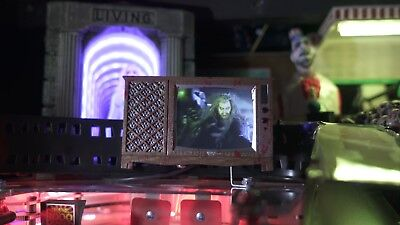 Rob Zombie Pinball mod - *Blood Splattered* TV with VIDEO and SOUND!