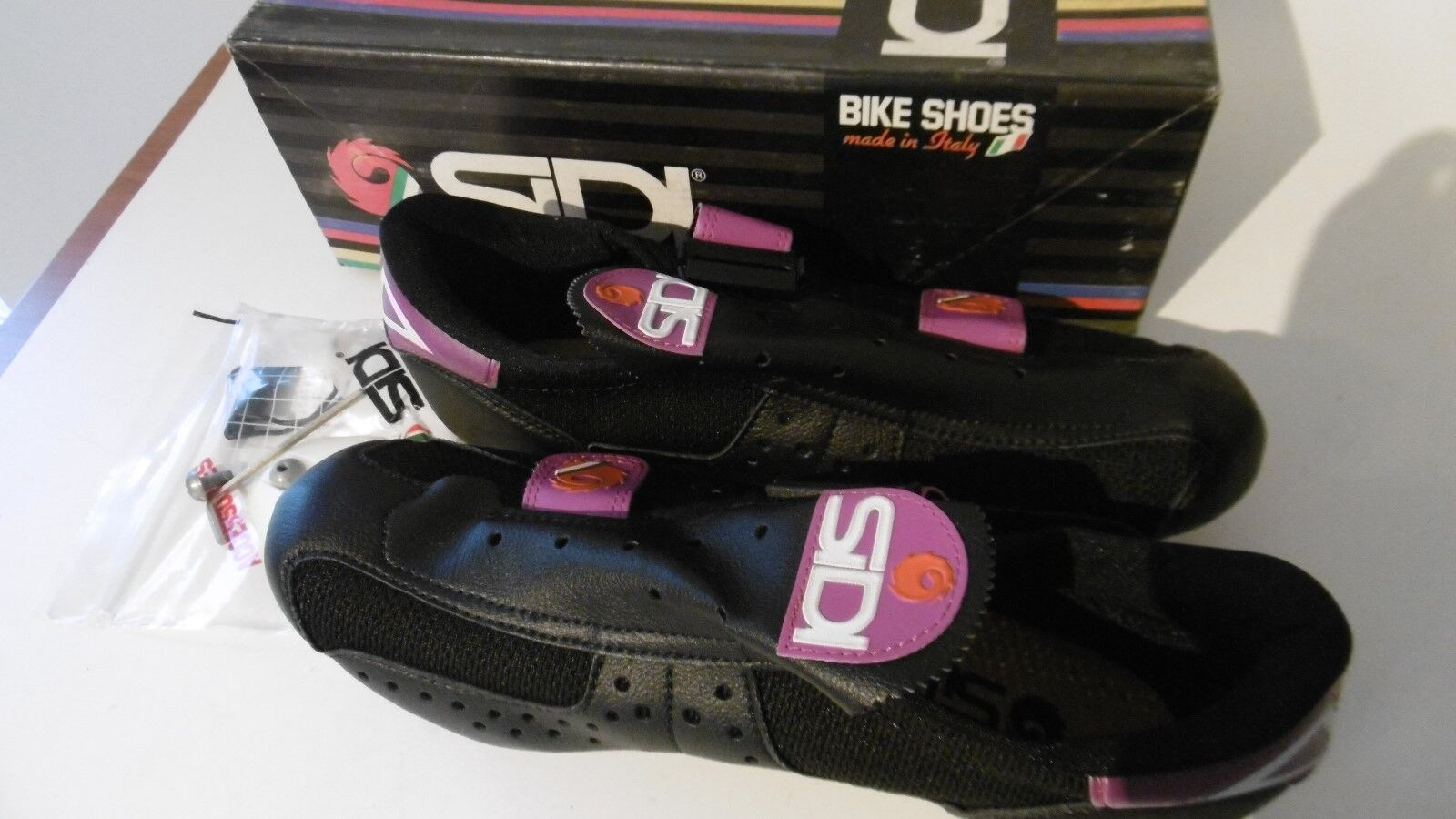 Vintage SIDI Cycling Shoes Size 41 Made In Italy NOS