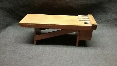 DOLLHOUSE MINIATURE WOODWORKING BENCH for sale  Fresno