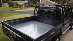 Toyota landcruiser 79 series genuine steel tray