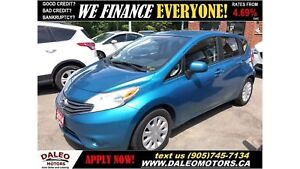 2014 Nissan Versa Note 1.6 SV| BACKUP CAM| CRUISE CONTROL| FALL