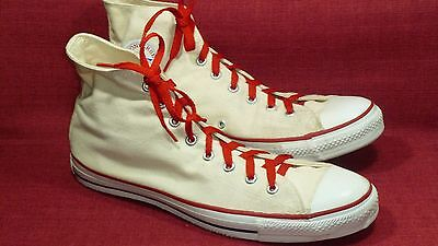 """Converse Vintage & Rare """"MADE IN USA"""" Off-White Men's Sneakers Size 13 EUC"""