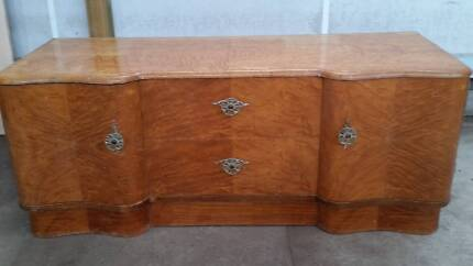 1950's dressing table and 2 wardrobes