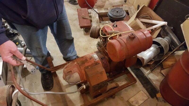 Wisconsin generator