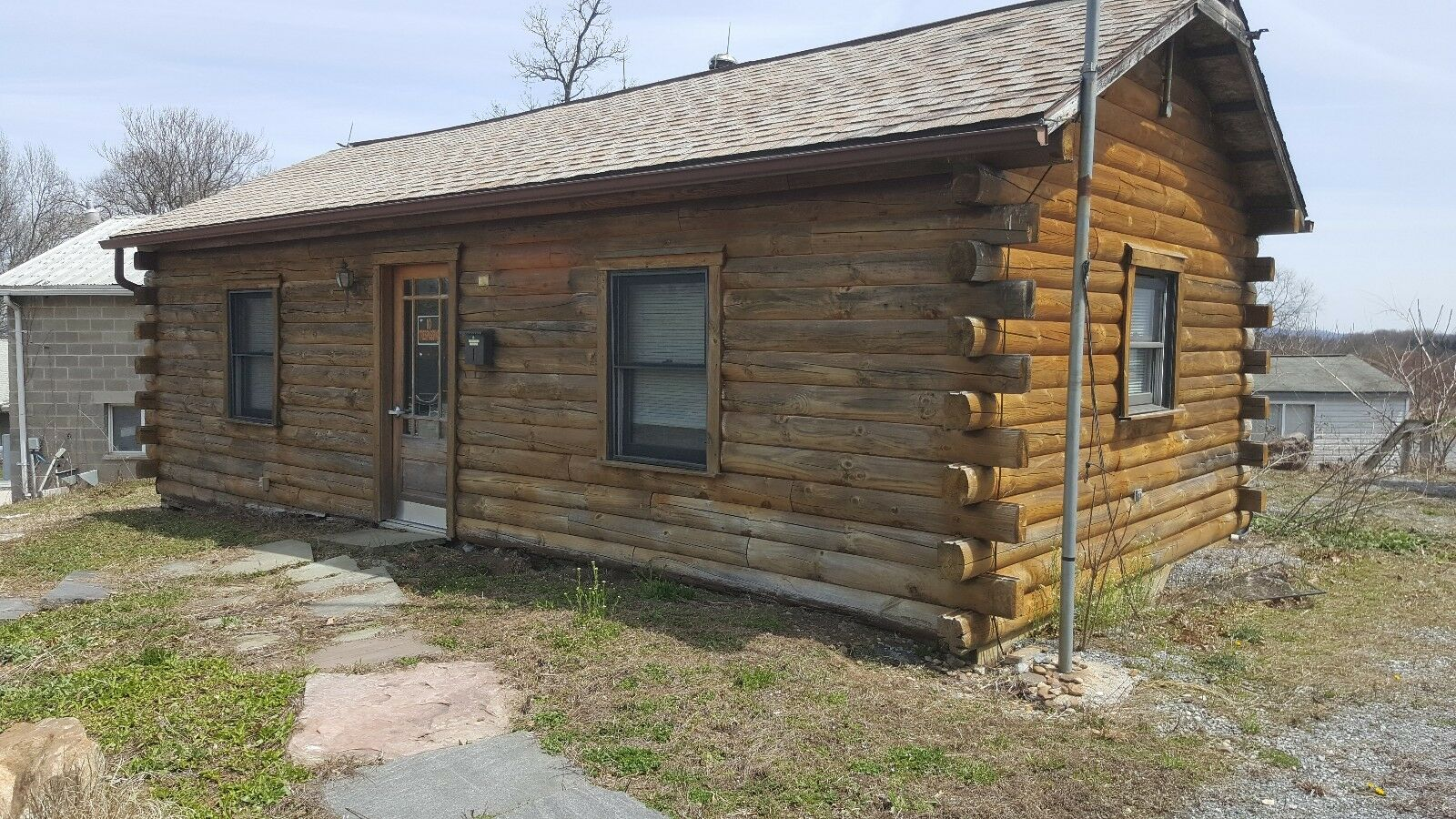 Small House Home Log Cabin 14 x 30