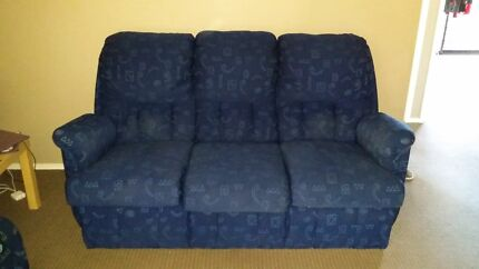 3 seater couch and 2 reclinable arm chairs Burleigh Heads Gold Coast South Preview