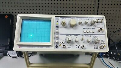 Ez Os-5060a Analog Oscilloscope 2 Channel Dual Trace 60mhz