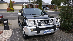 NISSAN NAVARA 2008 D40 4X4 TURBO DIESEL REG OCTOBER EPPING VIC Epping Whittlesea Area Preview