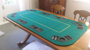 Large folding Poker table top Lindfield Ku-ring-gai Area Preview