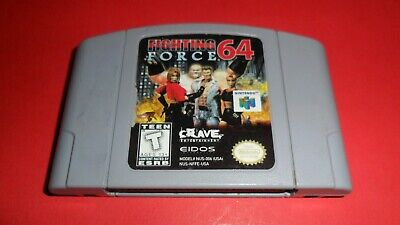 Fighting Force N64 (Nintendo 64, 1999) Authentic, Cleaned & Working!