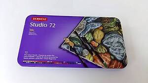 Used Derwent Studio Pencils Tin 72 Pack - Nearly New Para Hills Salisbury Area Preview