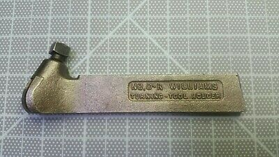 J.h. Williams No. 0-r Right Hand Turning Tool Holder