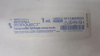 1180100555 Monoject Sp Tb Syringe No Needle 1 Cc Regular Tip 1 Pack Of 40