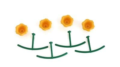 (Hummingbird Feeder Replacement Parts 4 Flower and 4 Perch Nectar Cafe)