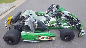 Arrow Deadly Vegas Kart with Rotax 125cc and spares Springfield Lakes Ipswich City Preview