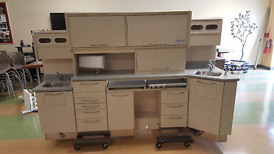 Dental Sterilization Center Cabinet System Steri-center 3
