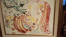 john perceval painting (flowers + insects with the mother} 69 Cygnet Huon Valley Preview