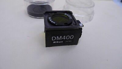 Nikon Dm400 Ba470 Fluorescence Microscope Filter Cube
