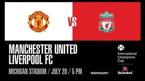 Manchester Utd vs Liverpool Tickets for July 28th
