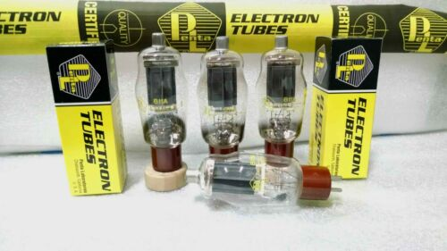 811A Penta Labs High Mu Power Triode Matched Quad (4) Tested Tubes