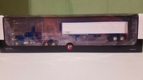 DCP First Gear Western Peterbilt 351 w/ Matching Reefer Trailer 1/64 NEW