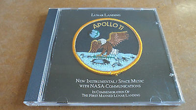 Apollo 11 - Lunar Landing - CD + Original NASA Aufnäher