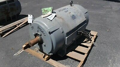 500 Hp Westinghouse Ac Electric Motor 1800 Rpm Fr 509us Dpbb 460 V Eok