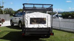 Trailer with canopy and cargo rack Gympie Gympie Area Preview