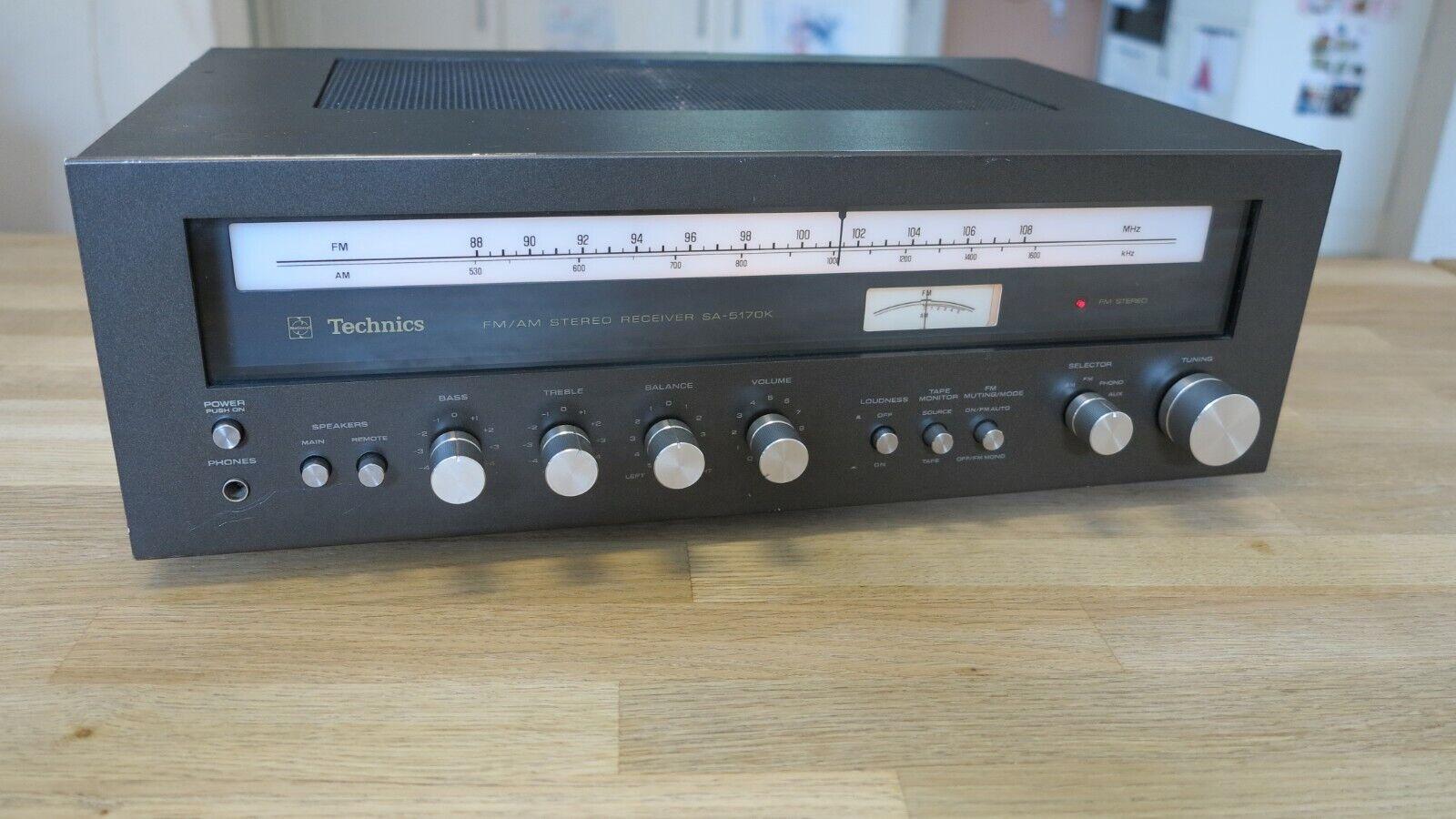 Stereo Receiver / Verstärker Technics SA - 5170 K