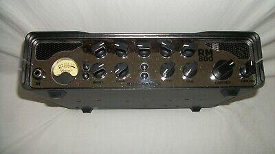 800w Bass - ASHDOWN Rootmaster RM-800 EVO 800W Bass Amp Head w/ FREE Bonus Pack