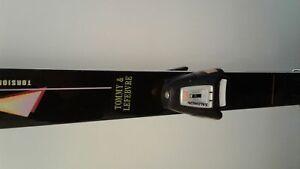 Rossignol ski package: skis, bindings, boots, poles