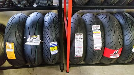Spring special free fitting on motorcycle tyres  Somerton Park Holdfast Bay Preview