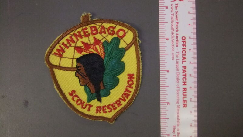 Boy Scout Winnebago Reservation Patch 8622HH