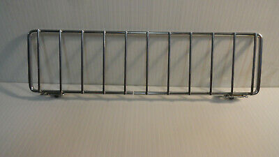 Gondola Shelf Fence Dividers 11x3 Chrome