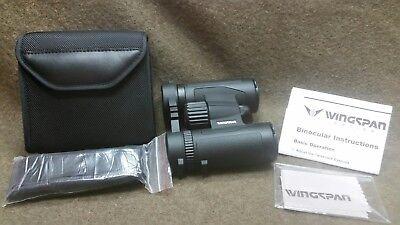 Wingspan Optics Spectator 8X32 Compact Binoculars for Bird Watching. Lightweight