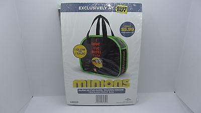 Minions Glow in the Dark Talking Trick or Treat Bag  - Minion Halloween Bags