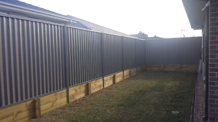A Grade fencing and landscaping