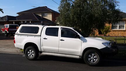 Toyota hilux auto 2009mdl  Glenroy Moreland Area Preview