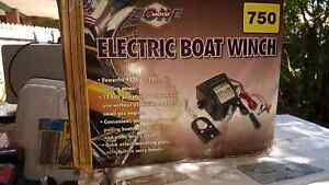 NEW 12 volt electric boat winch 2000lb / 907kg Westlake Brisbane South West Preview