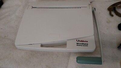 UniMate WireMate Loop Wire Binding Machine