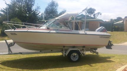 5.5m Voyager Boat