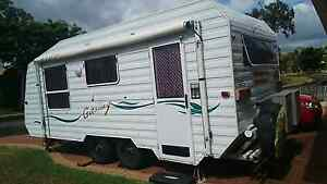 Caravan with Awning and annex Scarness Fraser Coast Preview