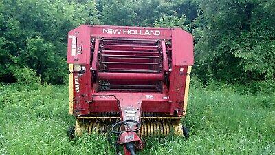 1989 853 New Holland Baler
