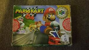 Mario Kart N64 - Boxed Corio Geelong City Preview